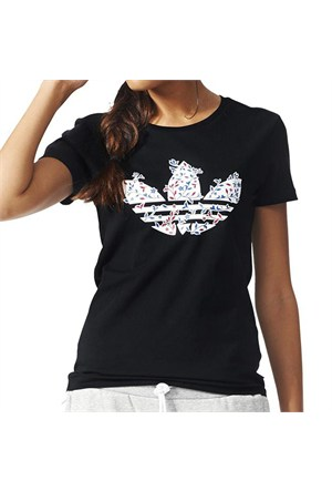 Adidas Aj8915 Trefoil Vines Kadın T-Shirt Aj8915add