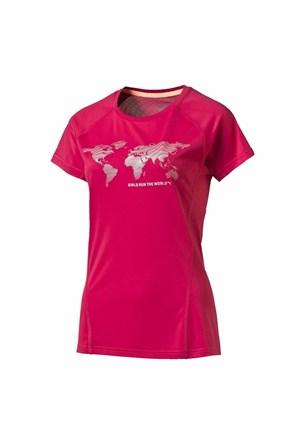 Puma 513744 Run The World Tee W Kadın T-Shirt Pmt121021