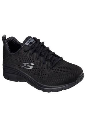 Skechers 12704 Bbk Fashion Fit-Statement Piece Koşu Ve Yürüyüş Ayakkabısı