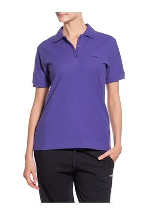 Sportive Polo Pıke Bayan T-Shirt (100856-LIL)
