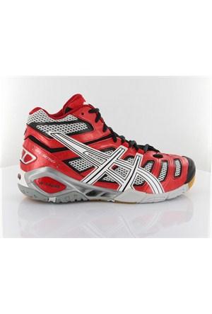 Asics B202y Gel Sensei 4 Mt Red White Black Spor Ayakkabı