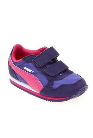 Puma St Runner V Kids Parachute Purple-Blue İ Çocuk Spor Ayakkabı 21-27