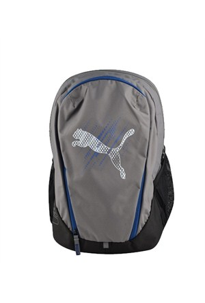 Puma Echo Backpack Steel Gray Çanta 07258002
