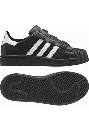 Adidas G61156 Superstar 2 Cf C Çocuk Orıgınals Ayakkabı Siyah