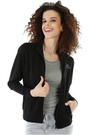 Kappa 1 302Y7N 005S Bayan Kadın Sweatshirt Siyah