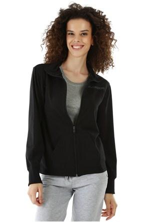 Kappa 1 3026LF0 005M Bayan Kadın Likralı Ceket Siyah