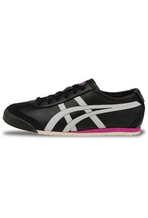 Onitsuka Tiger Mexico 66 Kadın Siyah Spor Ayakkabı (Hl474-9010)