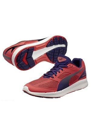 Puma Ignite Mesh Kadın Kırmızı Koşu Ayakkabısı (188585-03)
