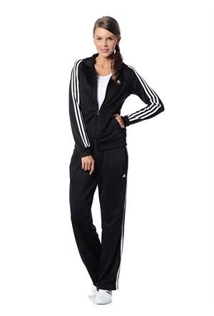 Adidas X25029 Ess 3S Knit Suit Bayan Eşofman Takımı