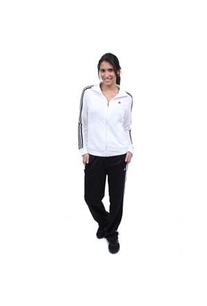 Adidas X25030 Ess 3S Knit Suit Bayan Eşofman Takımı