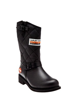Harley Davidson Laconıa644 Deri Siyah Erkek Çizme 025M0020