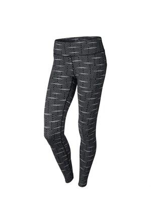 Nike Df Epıc Run Tıght-P(Sp15) Kadın Siyah Gri Gümüs Tayt