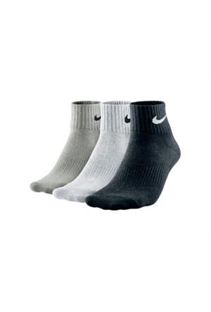 Nike Sx4706-001 3Lü Lightweight Quarter Spor Çorabı