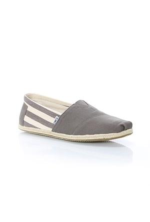 Toms Dk Grey Strıpe Unıversıty Mn Clsc Alprg 10005416 Grey Spor Ayakkabı