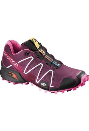 Salomon Speedcross 3 W Kadın Ayakkabı Fuşya
