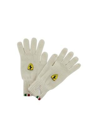 Puma 5249202 Ferrari Ls Knit Gloves Kadın Eldiven