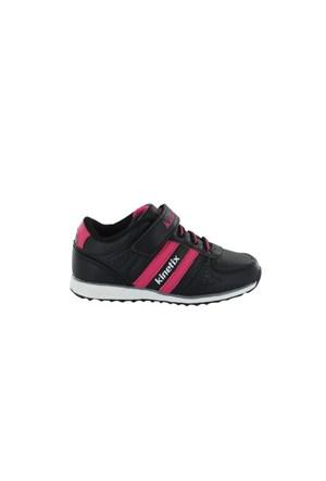 Kinetix 1216922 4F Allen Siyah Çocuk Günlük Ayakkabı