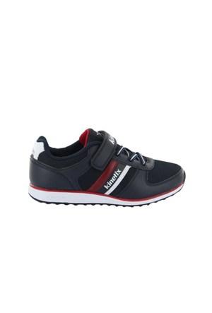 Kinetix 1237085 5P Allen Mesh Lacivert Beyaz Kırmızı Çocuk Günlük Ayakkabı