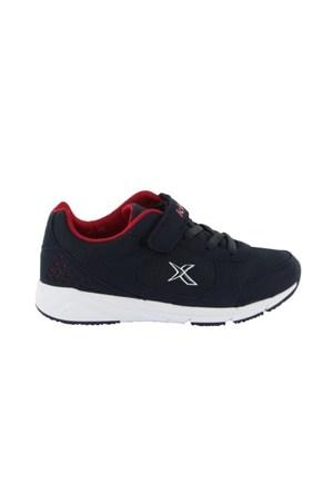 Kinetix 1237737 5P Vicolo Lacivert Kırmızı Beyaz Çocuk Günlük Ayakkabı