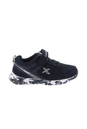 Kinetix 1237390 5P Agilo Camo Lacivert Gri Beyaz Çocuk Günlük Ayakkabı