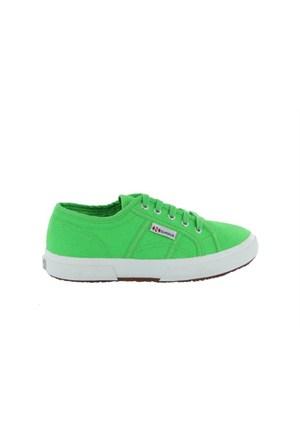 Superga 2750-Jcot Classic Bright Green Çocuk Günlük Ayakkabı