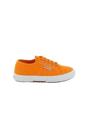 Superga 2750-Jcot Classic Bright Orange Çocuk Günlük Ayakkabı