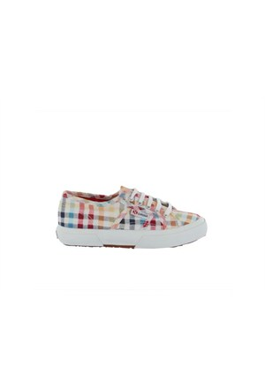 Superga S006970-970 2750 Cotj Fabric 7 Squares Multicolor Çocuk Günlük Ayakkabı