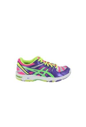 Asics B454N-3570 Gel Beyond 4 Purple Neon Green Pink Erkek Günlük Ayakkabı