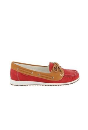 Docker'S By Gerli 216607 Kırmızı 288027 Kadın Günlük Ayakkabı
