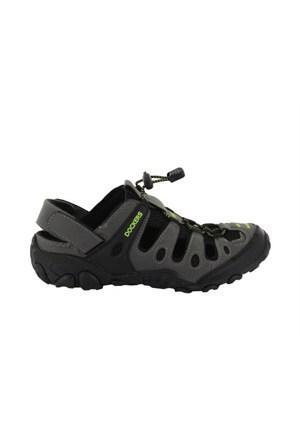 Docker'S By Gerli 216504 Koyu Gri 285032 Erkek Ayakkabı Sandaletler
