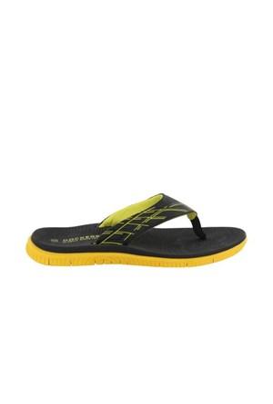 Docker'S By Gerli 218643 Siyah Sarı 285105 Erkek Ayakkabı Terlik