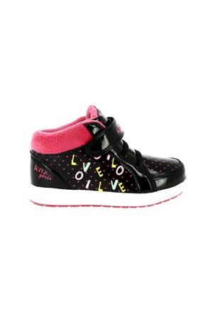 Kinetix 1254414 ingrid Siyah Fus Çocuk Günlük Ayakkabı