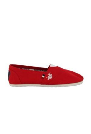 U.S.Polo Assn. 297684 5M Torker Z Kırmızı Kadın Günlük Ayakkabı