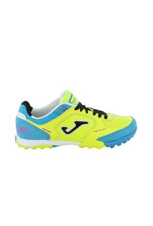 Joma Top Flex 511 Lemon Blue Turf Erkek Halısaha Ayakkabı