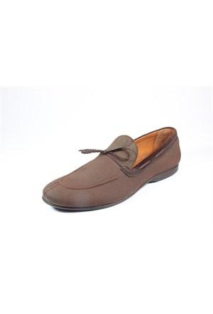 Commodore 213-402 Kahverengi Keten Erkek Ayakkabı