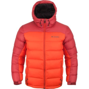 columbia xm5983-831 quantum voyage hooded jacket erkek mont - l