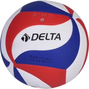 delta simo lazer yapıştırma voleybol topu - mavi-kırmızı-beyaz