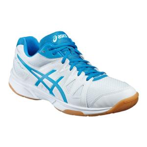 asics b400n-0143 gel upcourt voleybol-badminton ayakkabısı renkli bağcık - 40.5