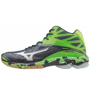 mizuno 60506 wave lightning z2 mid voleybol ayakkabısı renkli bağcık - 43