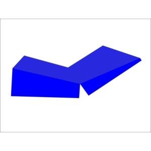 ciwaa üçgen katlanabilir minder anaokulu minderleri ciwaa cwa-444