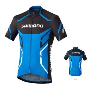 shımano bisiklet forma mavi - s - mavi