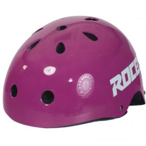 roces aggressıve helmet ce purple - m