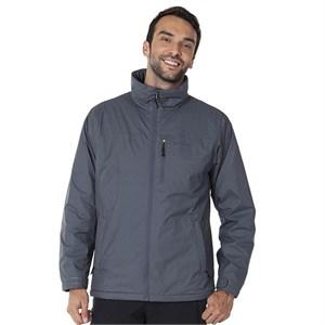 columbia creeksedge erkek jacket - gri - l