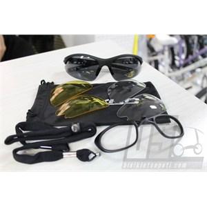 xlc gözlük bahamas sport 3 camlı siyah