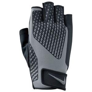 nike mens core lock ağırlık eldiveni gri - m - siyah