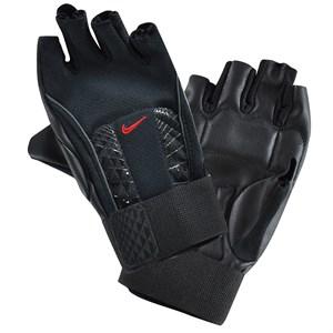 nike aksesuar nike mns alpha structure lifting gloves s black university r ağırlık eldiveni - s - siyah