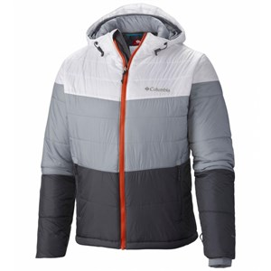 columbia shimmer flash jacket mont - gri - xl