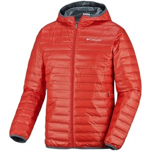 columbia flash forward down hooded mont - kırmızı - xl