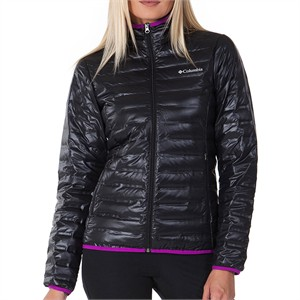 columbia wl1058 flash forward down jacket kadın mont kaban - xs