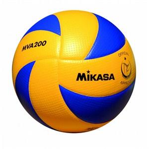 mikasa mva 200 sentetik deri voleybol topu resmi maç topu